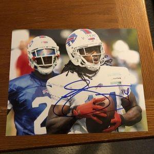 Other - Sammy Watkins Autograph 8x10 Photo Buffalo Bills